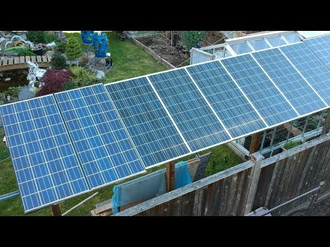 DIY Renewable Energy | Solar Energy In Canadian Backyard  |