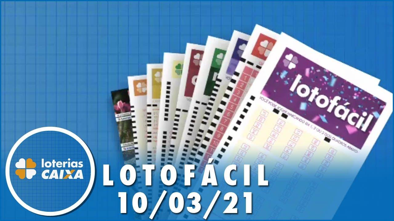 Download Resultado da Lotofácil - Concurso nº 2177 - 10/03/2021