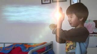 Ultraman Aidan Shoots Ultra Ray