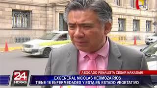 Cesar Nakasaki inicia campaña para liberar a ex general Nicolas Hermoza Ríos