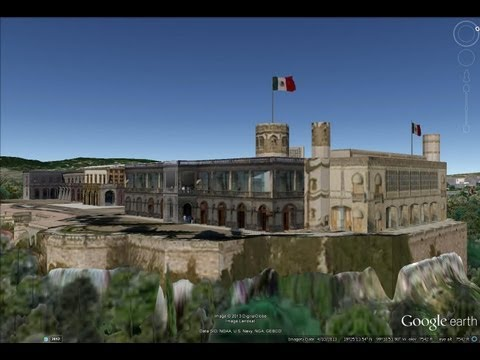 HISTORICAL PLACES OF MEXICO IN GOOGLE EARTH PART THREE ( 3/7 )