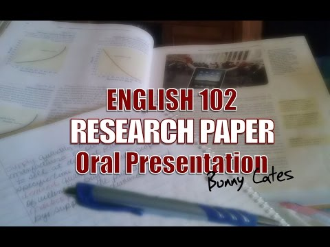 ENG 102 Research Paper Presentation - DEATH OF THE ENGLISH LANGUAGE AND LITERACY?
