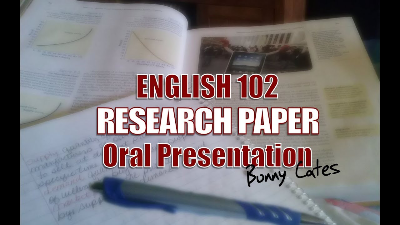 ENG 102 Research Paper Presentation DEATH OF THE ENGLISH LANGUAGE