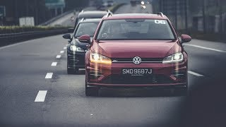 sgCarMart X Volkswagen Golf Media Drive 2018