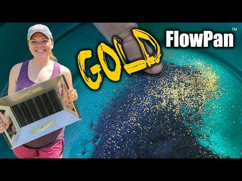Gold Panning In Georgia With The FlowPan