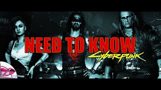 Cyberpunk 2077 | Need to Know Before You Play | Top Ten