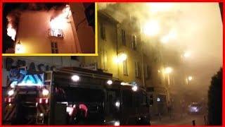 Incendie Appartement Feu Pompier VAR Le Muy 29 Septembre 2017