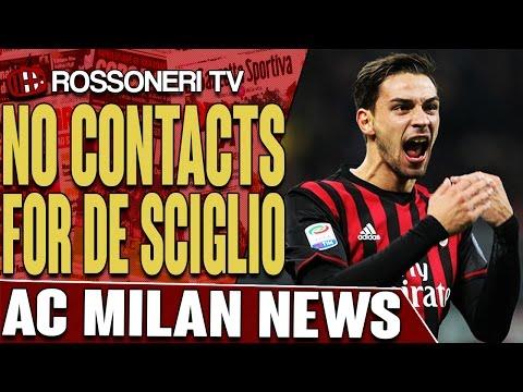 No Contacts For De Sciglio | AC MILAN NEWS