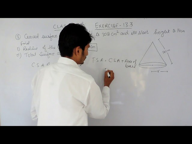 Exercise 13.3  Question 3  - NCERT/CBSE Solutions for class 9th maths