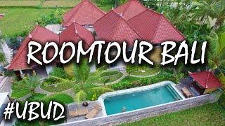 Gambar cover Bali Airbnb Luxus Unterkunft in Ubud - günstig und luxuriös - Airbnb Roomtour    #56