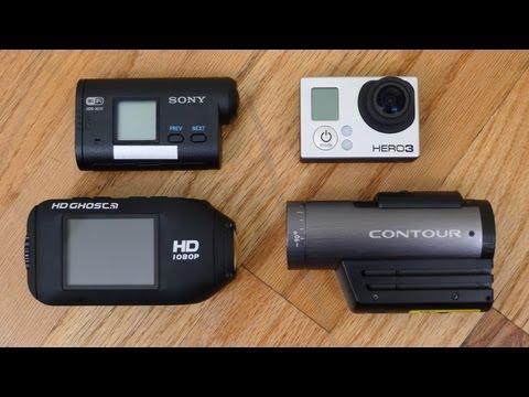 Action Cam Battle: Hero 3 Black vs Contour+2 vs Sony Action Cam vs Drift Ghost