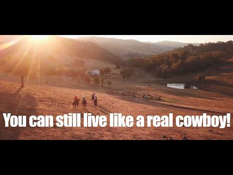 Living like a real cowboy (4K)