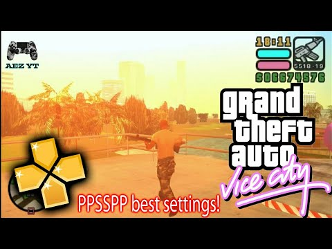 GTA Vice City Stories PPSSPP V1.6.3 Best Settings For Low Specs Android