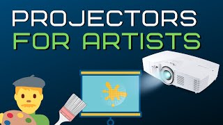 Best Digital projector for Artists in 2020 (Top 5)  | Good for Mural wall art