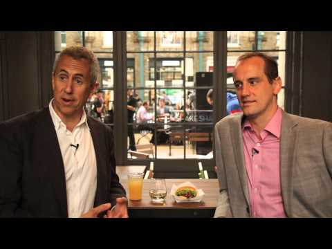 Danny Meyer & Randy Garutti talk about the opening of Shake Shack, Covent Garden