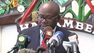 Chairman Wafula Chebukati and six commissioners sworn in