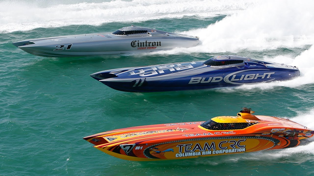 SUPER BOAT RACE | Offshore Powerboat World Championship 2018