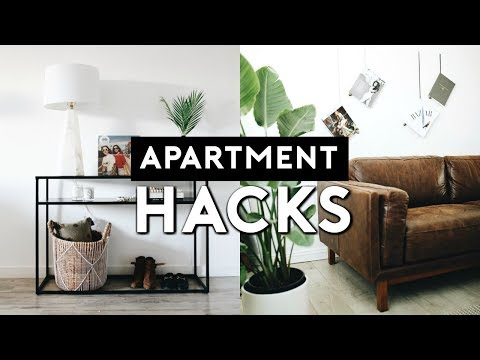 SMALL APARTMENT HACKS AND INTERIOR DESIGN TIPS | Nastazsa