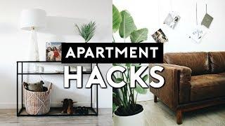 SMALL APARTMENT HACKS AND INTERIOR DESIGN TIPS   Nastazsa