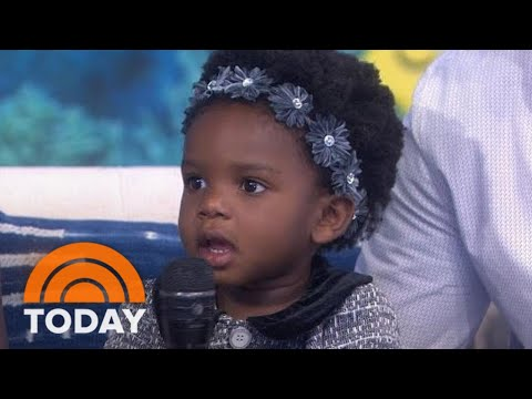 See 'Baby Shark' Toddler Steal Hearts Once More On TODAY | TODAY Mp3