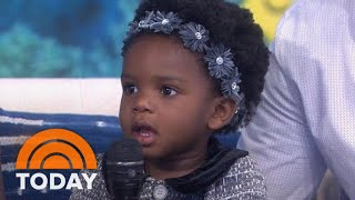 See 'Baby Shark' Toddler Steal Hearts Once More On TODAY | TODAY thumbnail