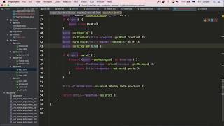 Thao tác căn bản CRUD trong Phalcon PHP phần 2