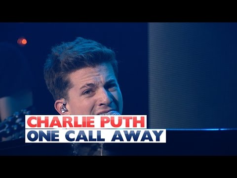 Charlie Puth - 'One Call Away' (Live At Jingle Bell Ball 2015)