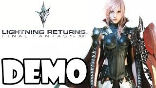 Lightning Returns Final Fantasy 13 Demo - First Look