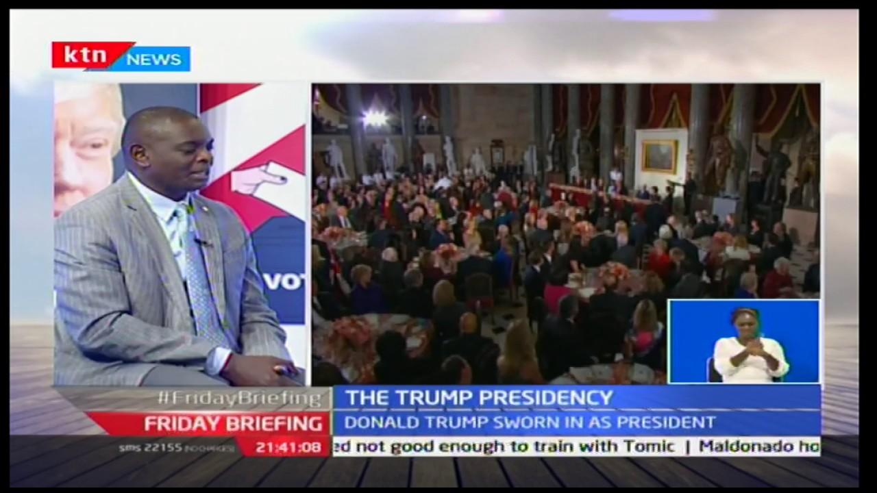 The Trump speech: With Alex Awiti and Prof. Macharia Munene 20/1/2017