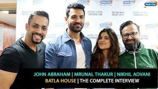 John Abraham, Mrunal Thakur, Nikhil Advani   Batla House   The Complete Interview