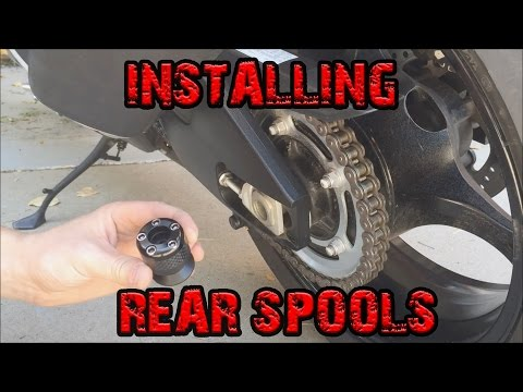 How to Install Rear Spools