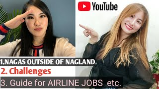 Naga's outside of Nągaland 😱| Know about AKSA ✈️️ | How to apply for airlines?