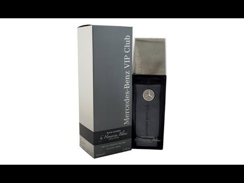 Mercedes-Benz VIP Club Black Leather Fragrance Review (2015)