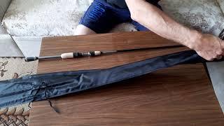 Розпакування спінінга daiwa silver creek sc742ulfs для F-magazin