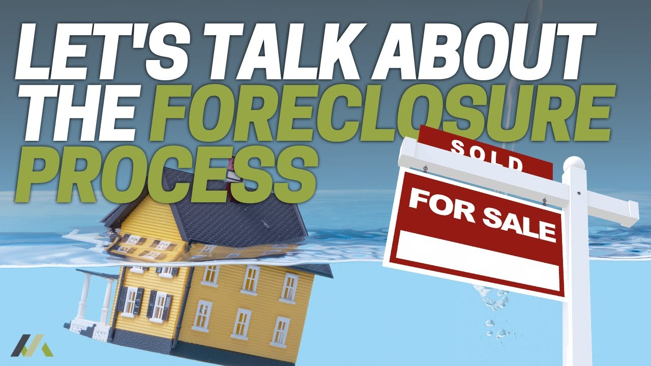 Let's Talk About The Foreclosure Process