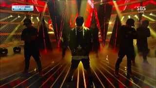 [Sun] - Ringa Ringa RingaLinga @ popular inkigayo 131110