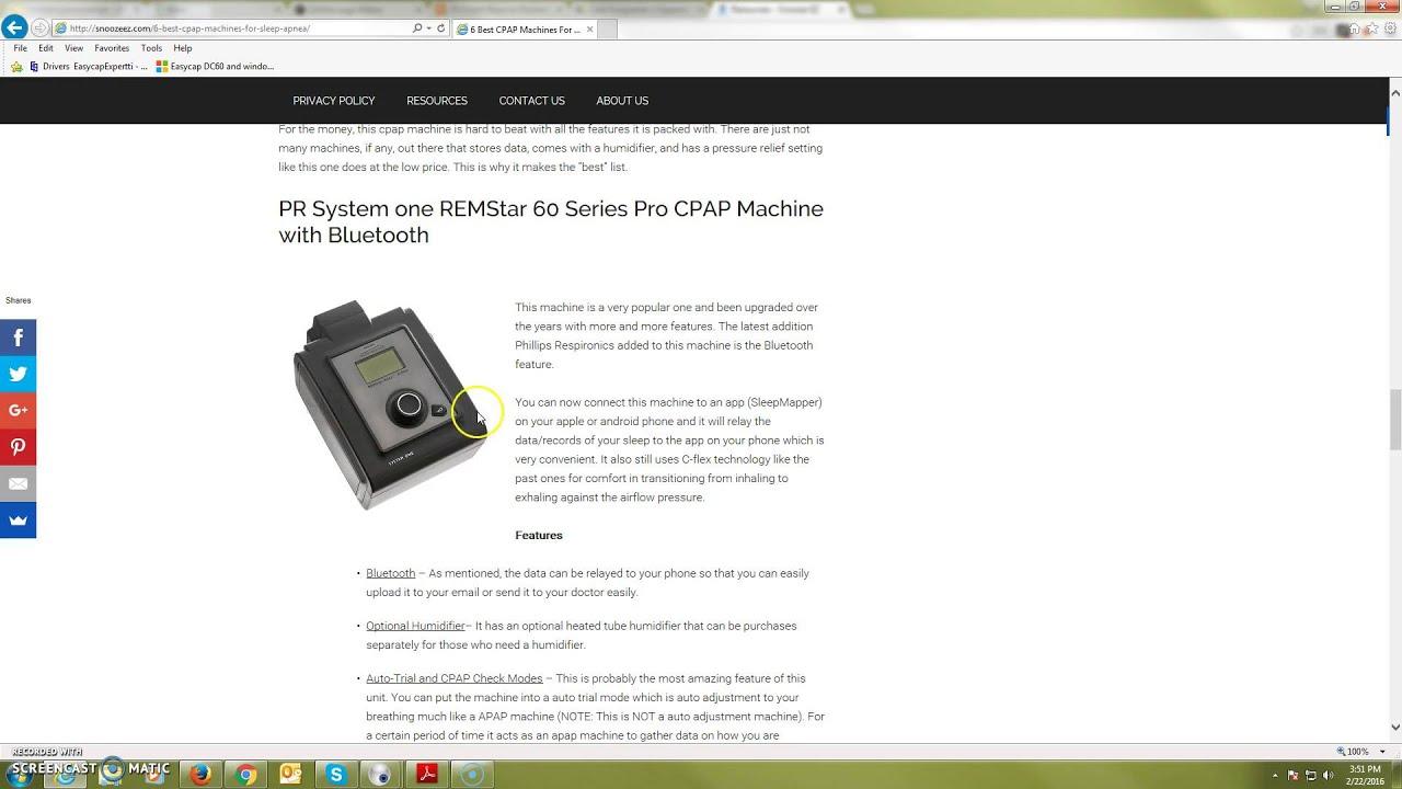 6 best cpap machines for sleep apnea - Cpap Machine Reviews