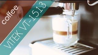 Vitek VT-1513 обзор с ароматом кофе!