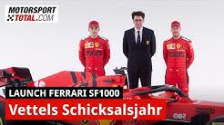 Ferrari SF1000 exklusiv: Warum 2020 laut Gerhard Berger ein Schicksalsjahr für Sebastian Vettel wird