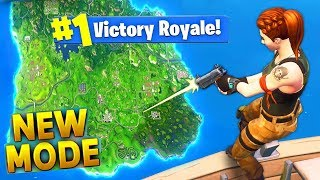 NEW MODE OF SOLO OFFENSIVE GAME - FREE VBUCKS - FORTNITE BATTLE ROYALE!