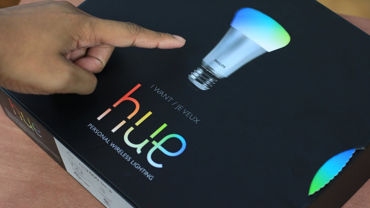 Philips Wireless Led Lights Unboxing Philips Hue Wi Fi Led Lighting System