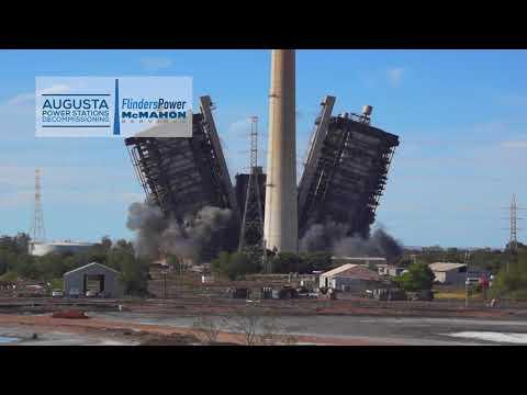 Northern Power Station Boiler Demolition 5