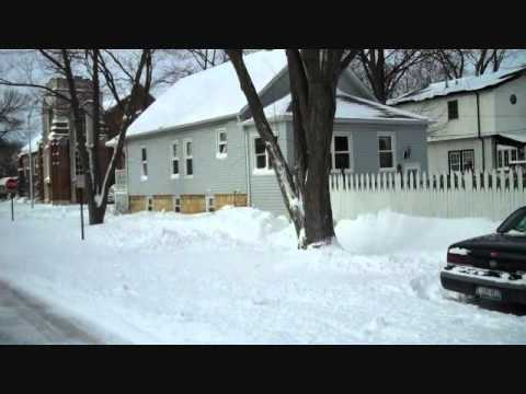 Chicago Snowstorm 2011- from Oak Lawn Illinois