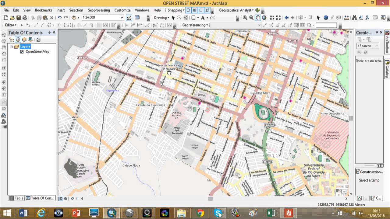 Arcgis Download, Extract and Symbolize OSM Data