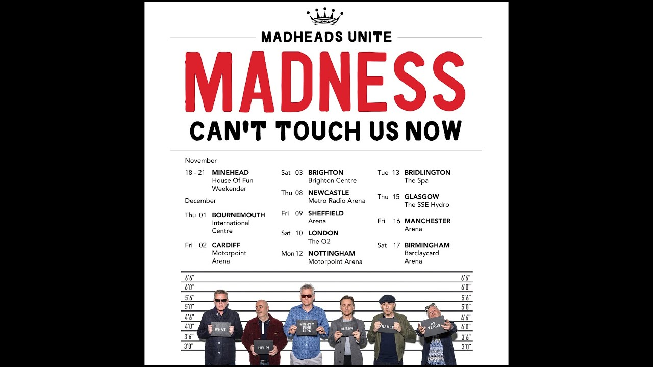 Madness Tour  Birmingham