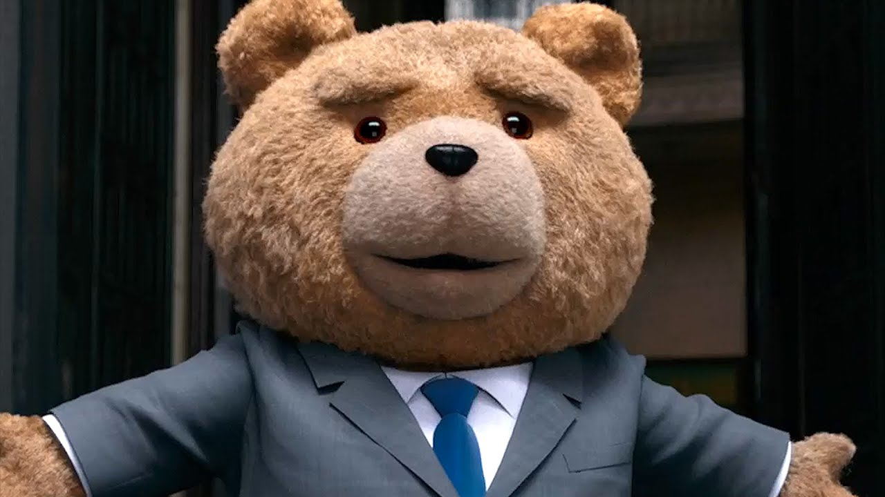 Seth MacFarlane returns as Mark Wahlberg's foul-mouthed bear in Ted 2