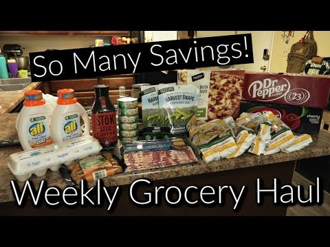 WEEKLY GROCERY HAUL SAVINGS! | How I Use Coupons & Rebates With Sales!