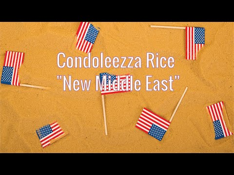 Condoleezza Rice & The New Middle East (AIPAC 2005)