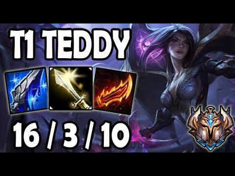 T1 Teddy Kaisa Vs Ezreal ADC - Korea Ranked