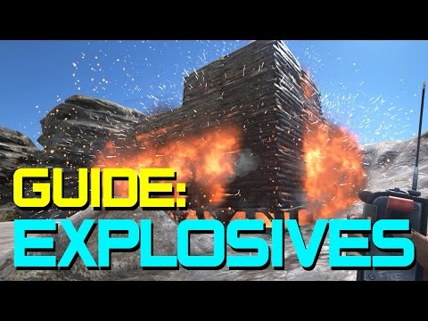 A Guide to Explosives in ARK: Survival Evolved